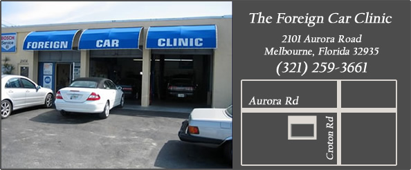 foreign car clinic - melbourne location